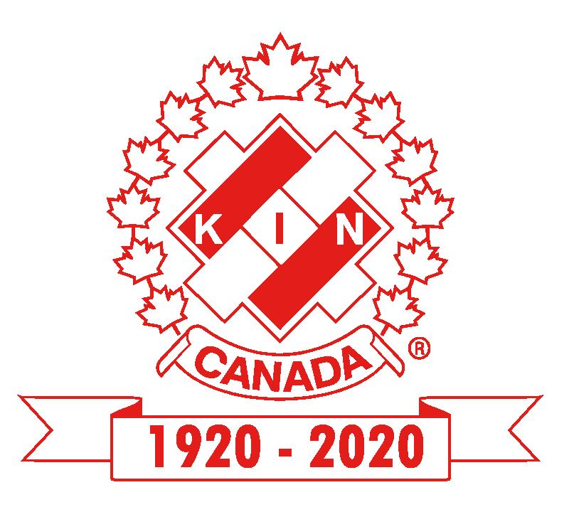 Kin Canada centennial logo