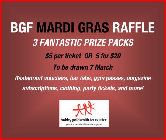 BGF Mardi Gras Raffle