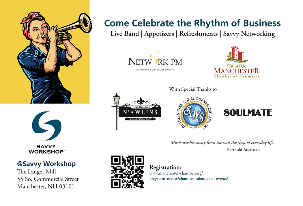Come Celebrate the Rhythm of Business
