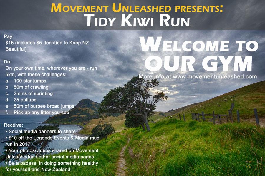 Tidy Kiwi Run