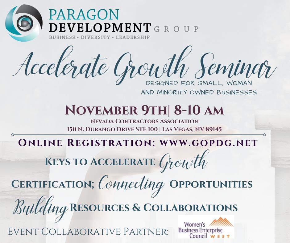 Accelerate Growth Seminar 11_9