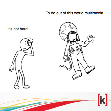 It't not hard to do out of this world multimedia