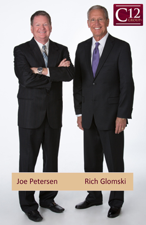 Joe Petersen and Rich Glomski