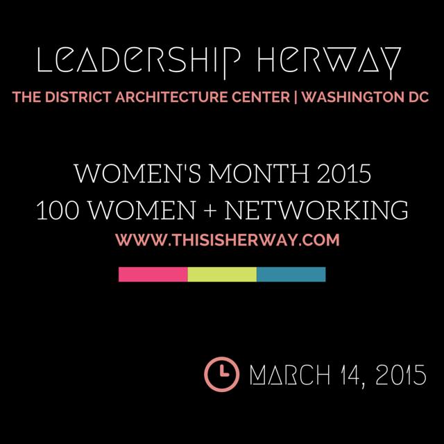 Leadership Her Way Summit - Women's Month 2015