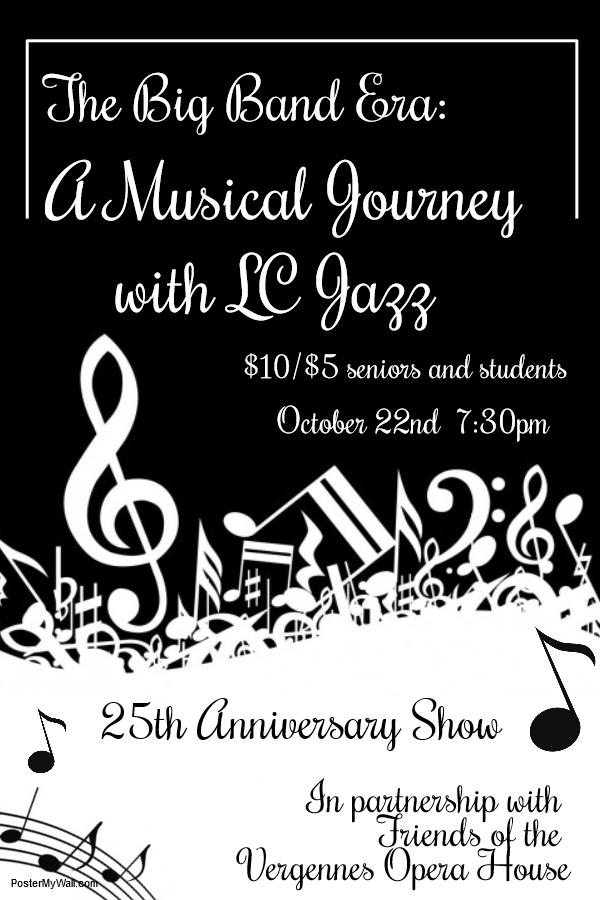 LC Jazz Concert poster