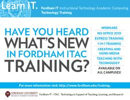 Introduction to Fordham's Document Imaging System (RH)