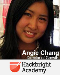 Angie Chang, Director of Growth, Hackbrite Academy