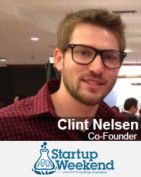 Clint Nelsen, Co-Founder, Startup Weekend