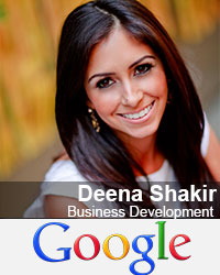 Deena Shakir, Business Development, Google for Social Impact