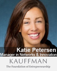 Katie Petersen, Manager in Networks & Innovation, Kauffman Foundation