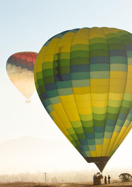 Mist Balloons. NapaValleyBalloons