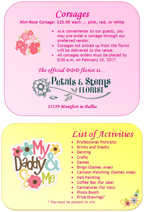 10th Annual CPOA Daddy-Daughter Dance Tickets, Sat, Feb 25 ...