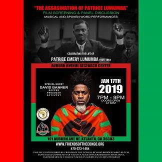 Lumumba - Banner Flyer