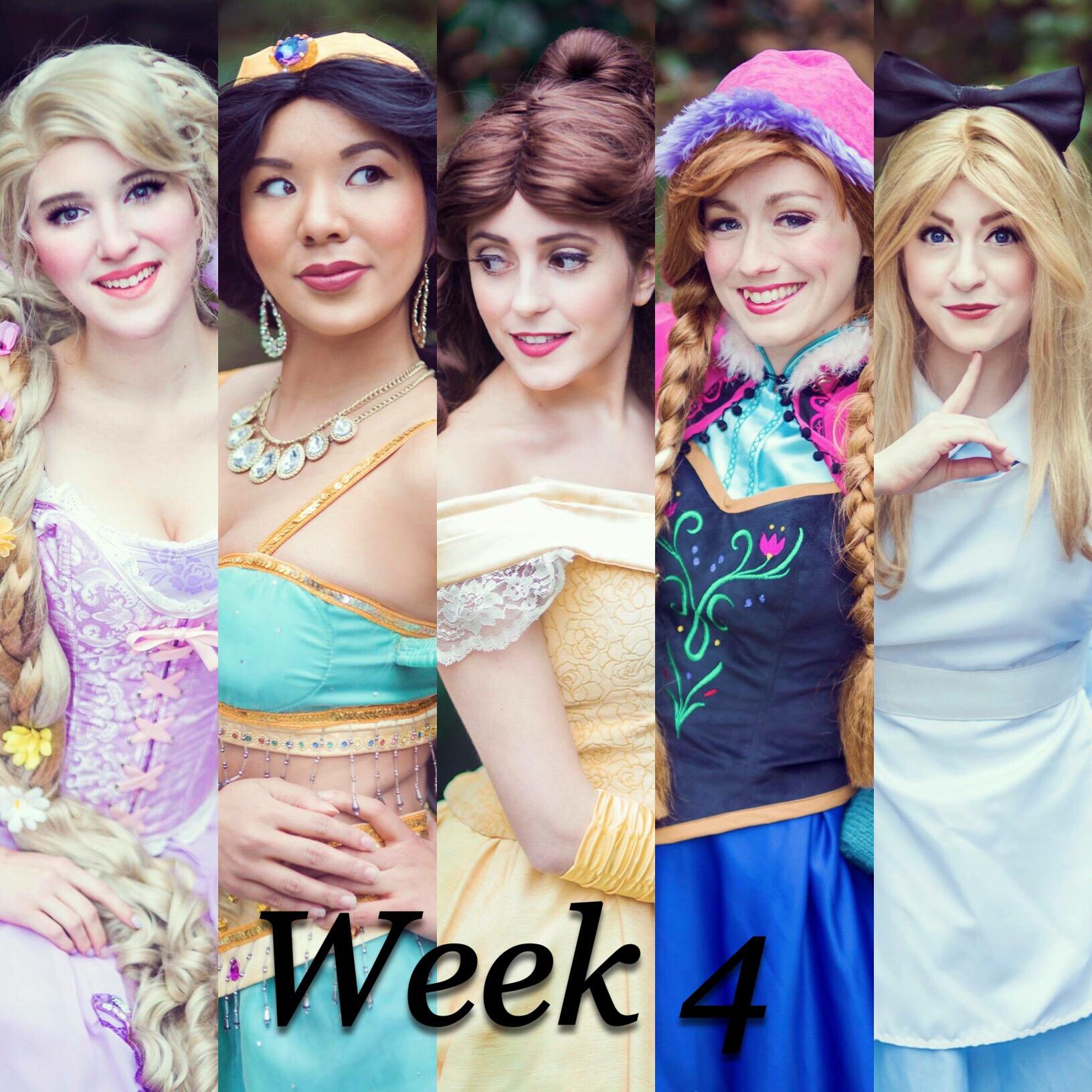 Week 4 Princess Camp