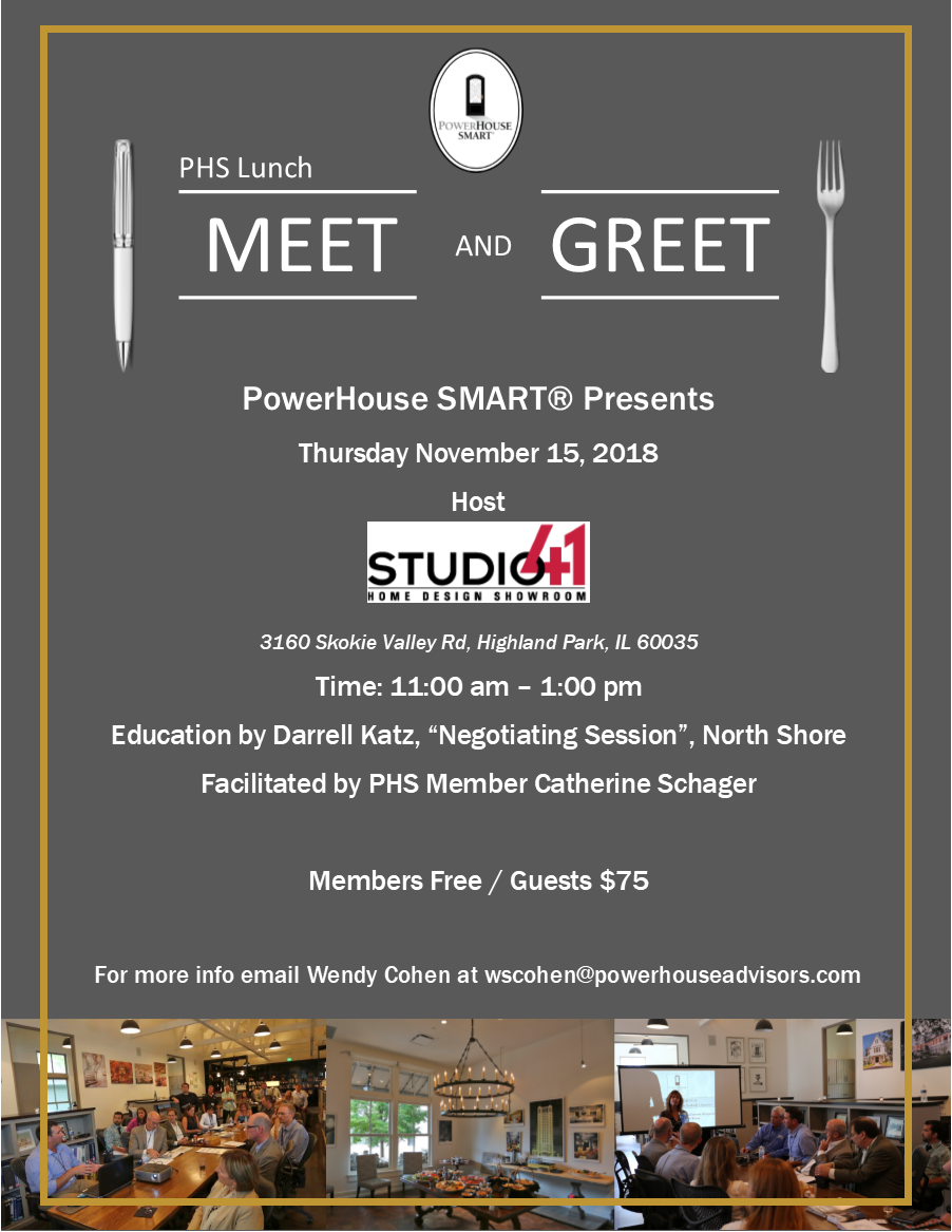 Powerhouse Smart Lunch Meet And Greet Tickets Thu Nov 15 2018 At