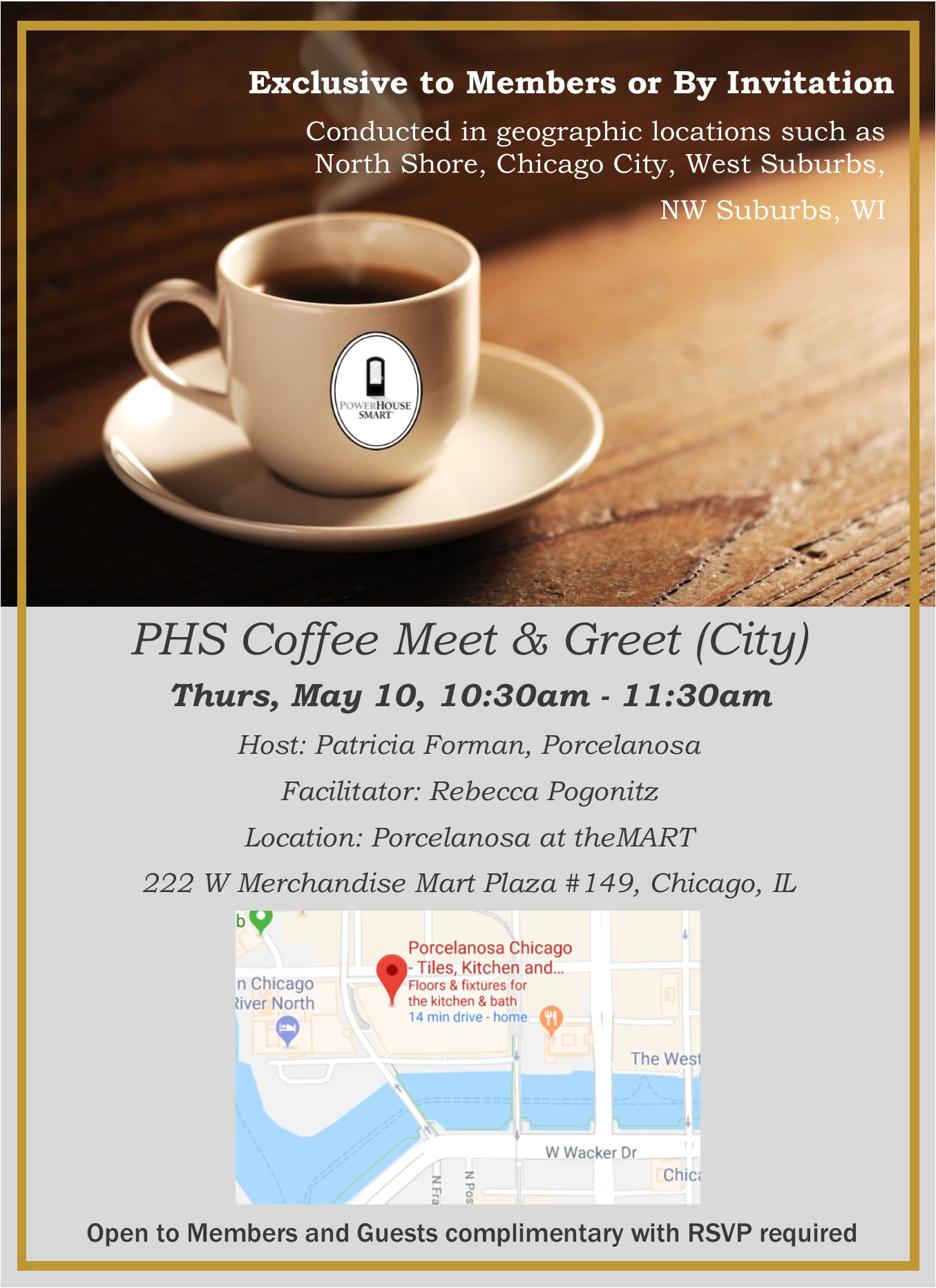 Powerhouse smart coffee meet and greet chicago tickets thu may tags kristyandbryce Image collections