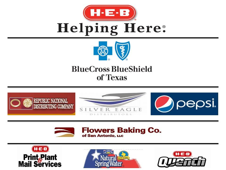 HEB 5k Sponsors
