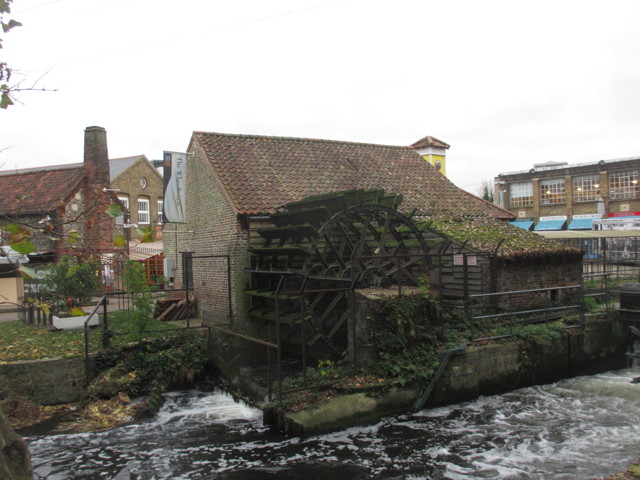 The Water Wheel at Merton Abbey Mills