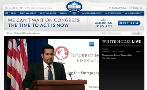 Ash Kumra - White House