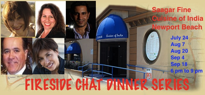 Fireside Chat Dinner Series at Saagar Fine India Restaurant, Newport Beach by oGoing