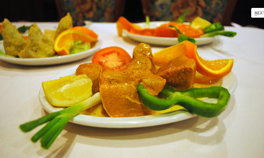 Delicious Hot Food at Saagar Fine India Cuisine