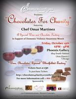 Chocolates For Charity- Special Wine and Chocolate Tasting...