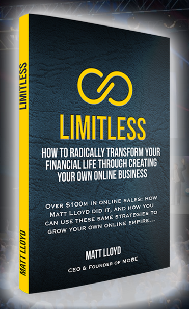 Get A Free Copy of LIMITLESS When You Attend