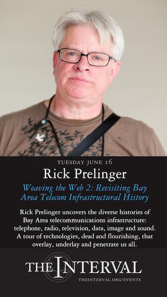 Rick Prelinger at The Interval, June 16 02015