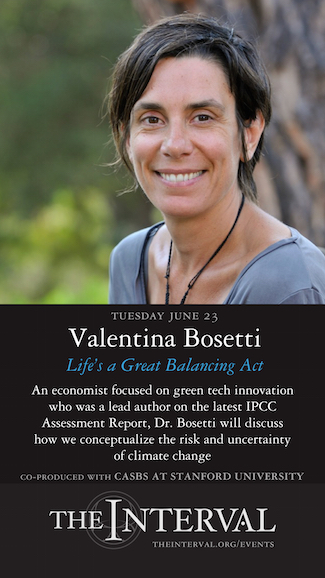 Valentina Bosetti at The Interval, June 23 02015