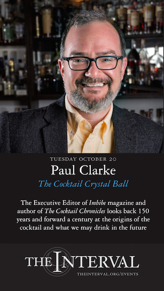 Paul Clarke at The Interval, October 20 02015