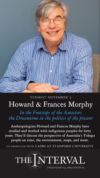 Howard and Frances Morphy at The Interval, November 3 02015