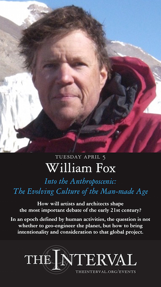 William Fox at The Interval, April 5, 02016