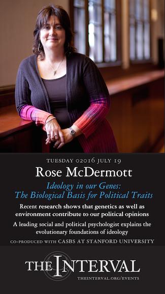 Rose McDermott at The Interval, July 19, 02016