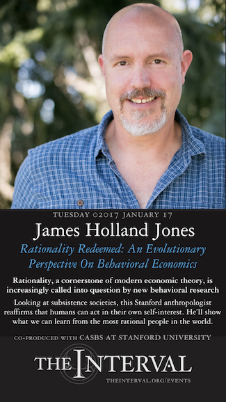 James Holland Jones at The Interval, January 17, 02017