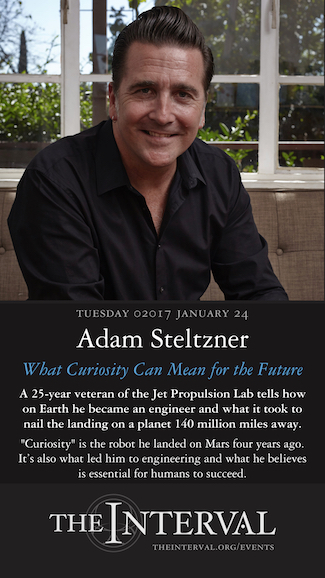 Adam Steltzner at The Interval, January 24, 02017