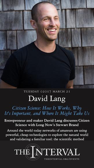 David Lang at The Interval, March 21, 02017