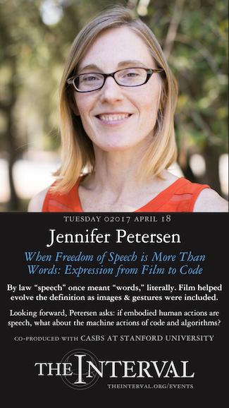 Jennifer Petersen at The Interval, April 18, 02017
