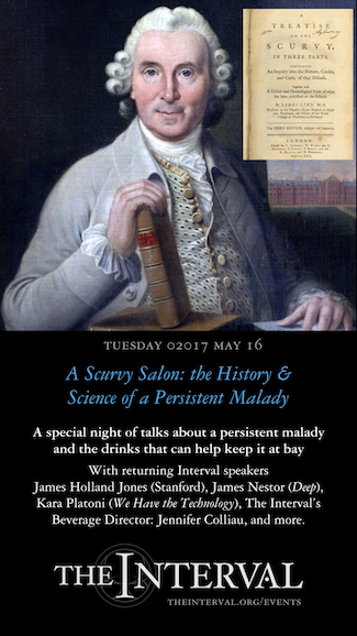 Scurvy Is Still With Us: an Interval salon event