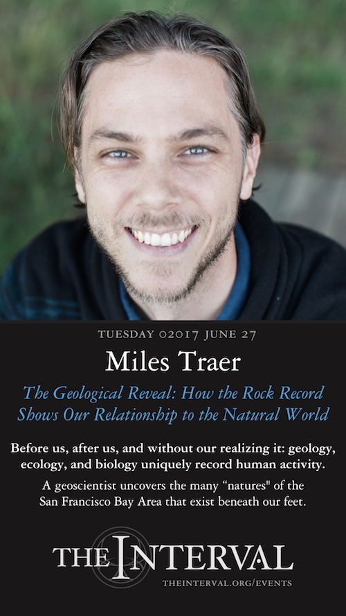 Miles Traer at The Interval, June 27, 02017