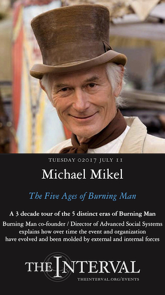 Michael Mikel at The Interval, July 11, 02017