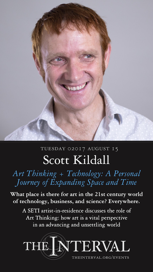 Scott Kildall at The Interval, August 15, 02017