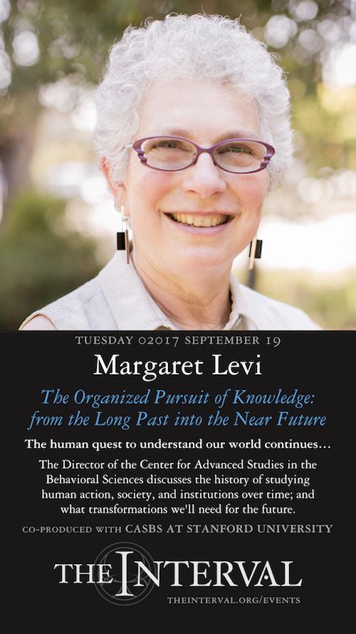 Margaret Levi at The Interval, September 19, 02017