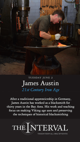 James Austin at The Interval, June 2 02015