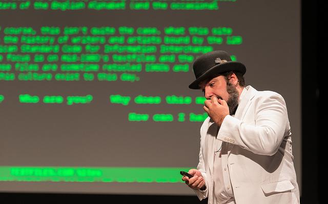 Jason Scott speaks at The Interval at Long Now, Feb 24 02015