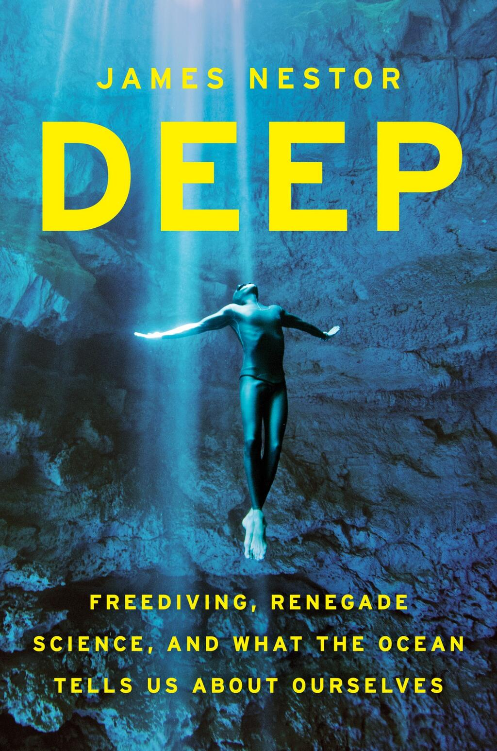 Deep by James Nestor book cover