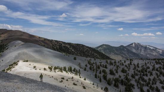 Scotty Strachan at The Interval Mt Washington Great Basin