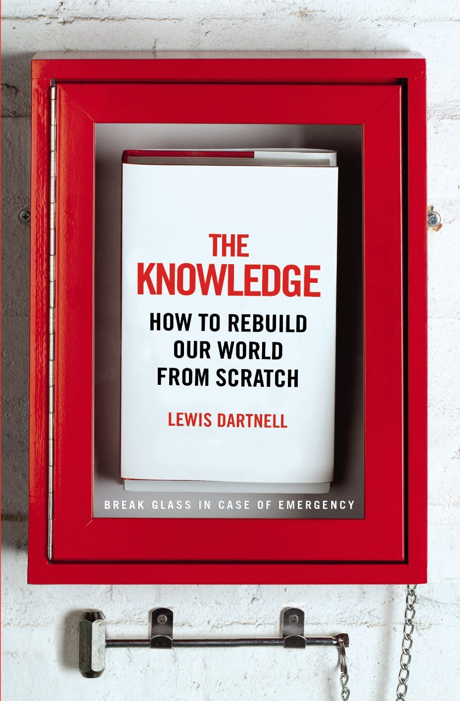 Lewis Dartnell, author of The Knowledge speaks at The Interval on 3/24/02015