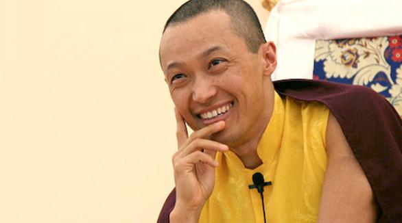 Sakyong Mipham smile