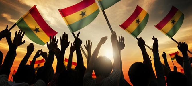 Ghana flags
