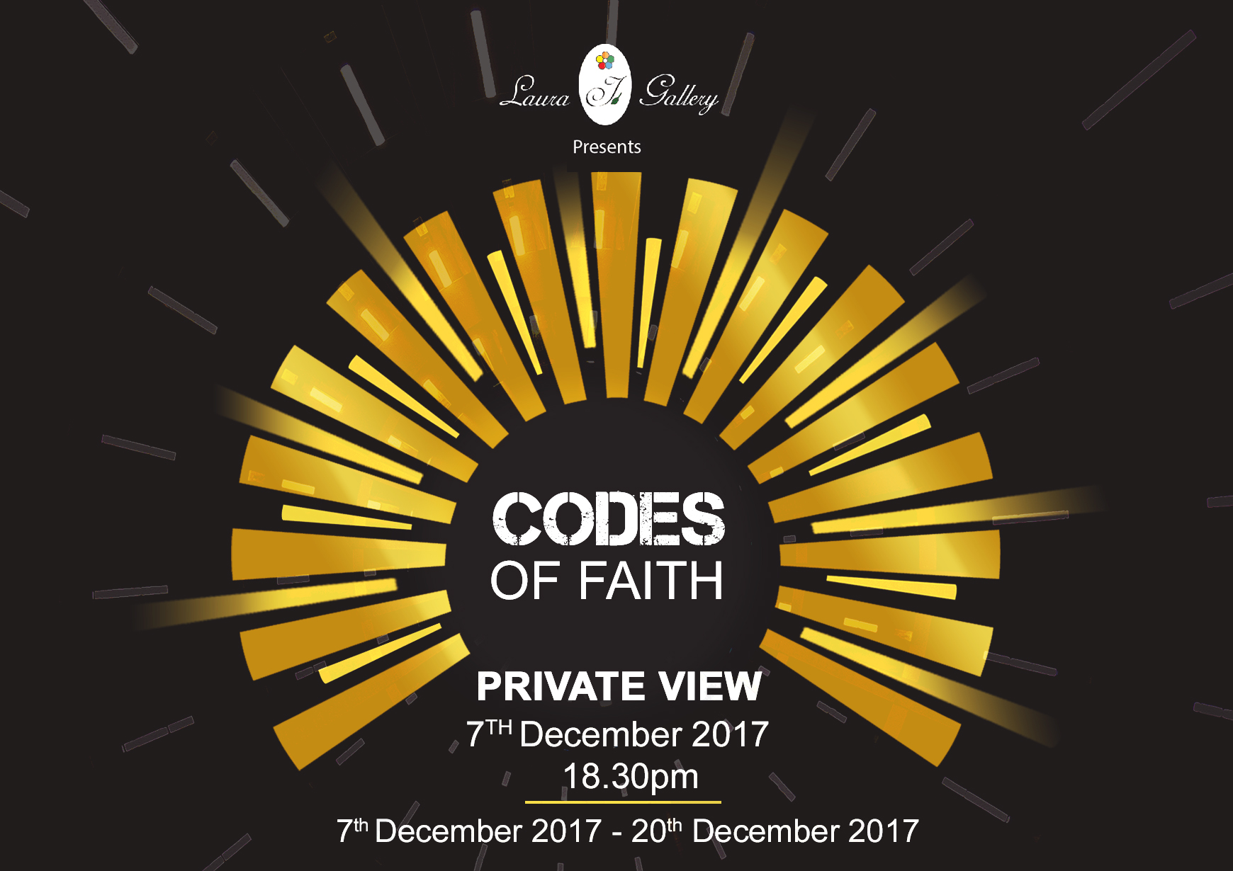 Codes Of Faith Exhibition